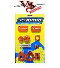 APICO FACTORY BLING PACK KIT KTM SX-F250 06-10, EXC-F250 06-10 MOTOCROSS ORANGE