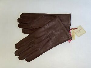 Genuine Dents leather gloves - Cashmere lined deerskin - Cambridge