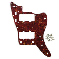 NEW 4Ply Red Tortoise Shell FD Jazzmaster Style Guitar Pickguard Scratch Plate