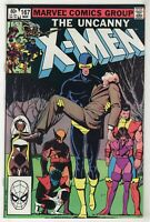 Uncanny X-Men #167 (1983, Marvel) [New Mutants, Starjammers] Claremont, Smith Xv