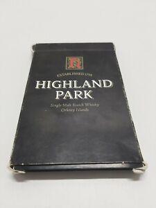 Highland Park Scotch Whisky Advertising Collectable Set of 35 Carton Cards