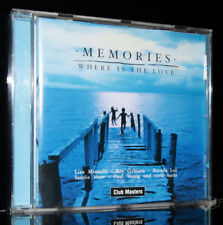 Memories-Where is the Love 2002 MINELLI Jones Orbison Whittaker ORIGINAL CD