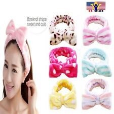 Spa Bath Shower Make Up Wash Face Cosmetic Adult Terry Headband Hair Head Band