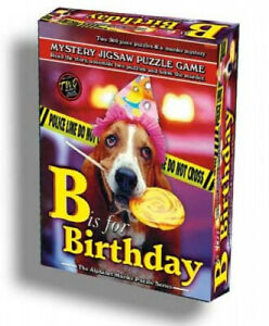 Alphabet Mystery Jigsaw Puzzle - B Is for Birthday. Tdc Games, Inc.
