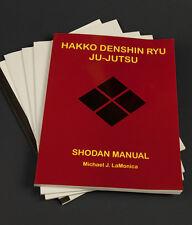 Hakko Denshin Ryu Ju-Jutsu Full Manual Set