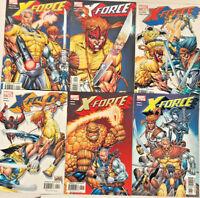 X-FORCE#1-6 VF/NM LOT 2004 ROB LIEFELD MARVEL COMICS