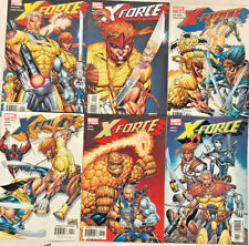 X-FORCE#1-6 VF/NM LOT 2004 ROB LIEFELD MARVEL COMICS