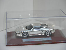 Noble M14 In Chrome effect 1/43rd Scale