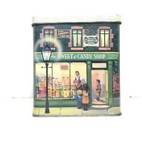 The Silver Crane Company Vintage Tin The Sweet Candy Shop C.1989