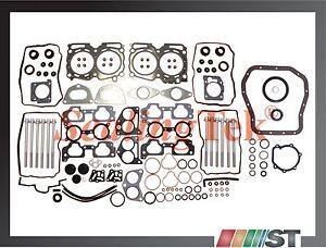 Fit 04-09 Subaru 2.5L EJ25 SOHC Full Gasket Set w/ Bolts Kit motor engine seals