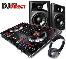 NUMARK NS6II 4 Channel DJ Controller USB SERATO DJ + M-AUDIO AV42 + Headphones