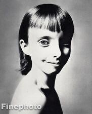 1958 Vintage 8x10 JULIET AUCHINCLOSS Cute Girl Child Photo Art By RICHARD AVEDON