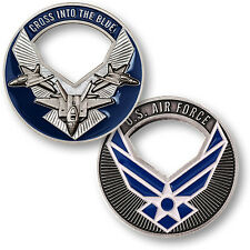 U.S. Air Force / Cross Into The Blue - USAF Nickel Challenge Coin