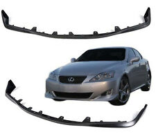 Fit For 06-08 Lexus IS250 IS350 OE Style Front Bumper Lip Polyurethane Black PU