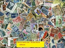 Fun Grab Bag of 300 different Worldwide stamps - A