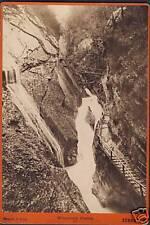 Germany photo cc.1890 Fernande Wimmbach Gorge