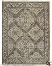 Restoration Hardware Stratto Sand Hand Knotted Rug 9x12 Wool $5495 MSRP