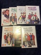 Malcolm In The Middle Complete Seasons 1-7 - All new & sealed UK region 2 DVDs