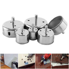 6Pcs Diamond Hole Saw Drill Bit Set Cutting Tool For Tile Marble Glass 30mm-80mm
