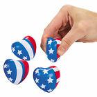 Mini Patriotic Heart Stress Toys - Toys - 24 Pieces