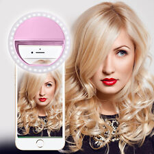 PINK SELFIE 36 LED Flash anulare luce riempimento Clip Fotocamera per iPhone HTC SAMSUNG LG