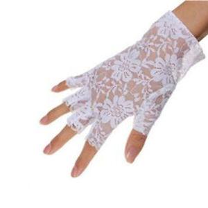 Gloves Fingerless Accessories Half Finger 1 Pair Lace Gloves Women Sunscreen New
