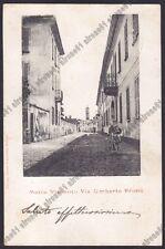 MILANO MOTTA VISCONTI 02 Cartolina viaggiata 1903