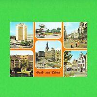 Ansichtskarte DDR Gruß aus Erfurt