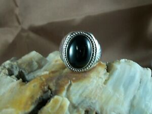 Black Onyx Ring, size 9
