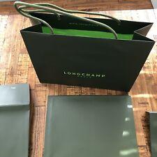 Longchamp Paper Boutique Bags and envelopes