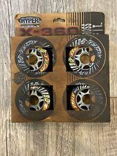Hyper Wheels X-360 Cross Fit Roller Blade Wheels- Set Of 4
