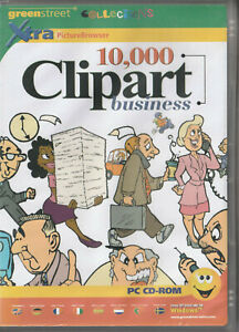 10,000 Clipart Business Royalty Free Scalable Clip Art in WMF + Browser