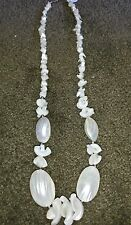 Mother of pearl shells and chips Necklace