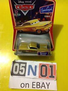 Disney Pixar Car Diecast Yellow Ramone Radiator Springs Supercharged New (FB01)