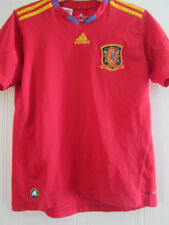 España 2010-2011 Home Football Shirt Talla 11-12 Años / 39142 Kids