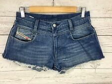 Womens Diesel Reworked Denim Hotpants/Shorts - W30 - Blue - Great Condition