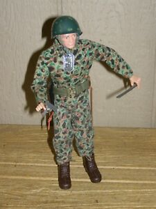 VINTAGE 1964 Early GI JOE Hasbro TM Blonde Painted Head U.S. Marine