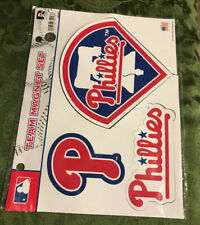 Philadelphia Phillies MLB Multi Die Cut Magnet Sheet Auto Home Baseball, New