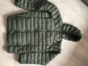 trespass womens down jacket wore once size xl, uk 16. Warm packable coat & pouch