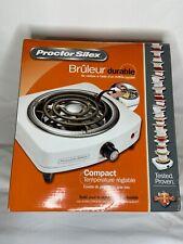 Proctor Silex Durable Fifth Burner Single Burner