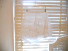 Eliane et Lena France ~ Catimini ~ White Ruffled Asymm Skirt ~ 10a