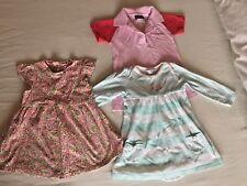 3x baby girl 6-9 months summer dresses Mothercare Reebok M&Co bundle