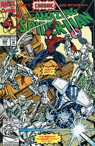 Amazing Spider-Man #360 Cameo Appearance of Carnage VF+