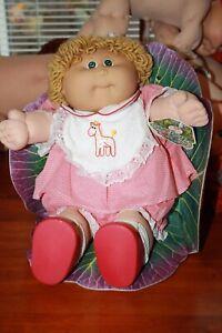 Cabbage Patch Kids - vintage girl butterscotch hair