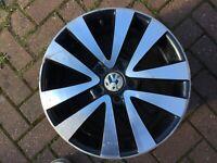 "VOLKSWAGEN VW GOLF MK5 MK6 RONAL17"" SEATTLE GTD WHEEL 5K0601025Q 5K0601025R #3"