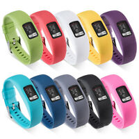 Replacement Silicone Band Watch Strap For Garmin VivoFit 4 Tracker Large & Small