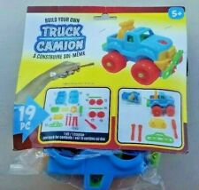 Build Your Own Truck 19 pc Toy for Ages 5+