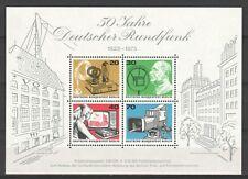 0091. Duitsland Berlijn Mi. Nr.Blok 4 xxx Omroep 1923-1973 Topp