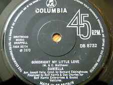 "DANIELLA - GOODNIGHT MY LITTLE LOVE  7"" VINYL"