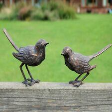 metal birds garden ornament. Cast Iron Garden Birds Ornament